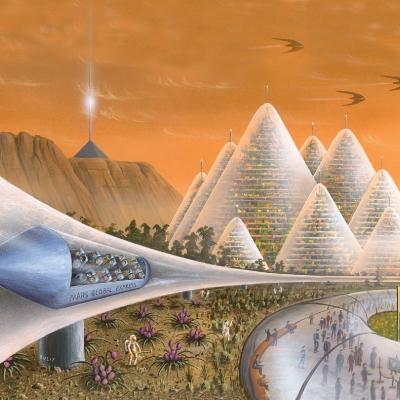 0619 Art Exhibition on Mars
