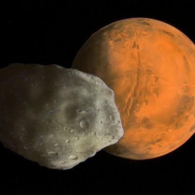 0747 Phobos and Mars