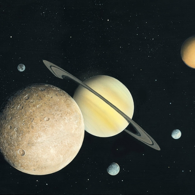 1312 Saturn and Moons