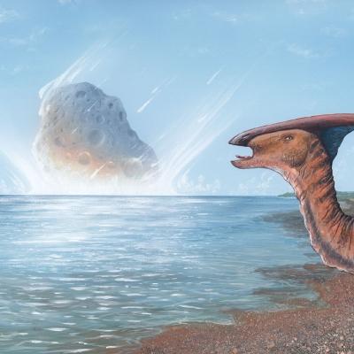 1009 Parasaurolophus & Asteroid