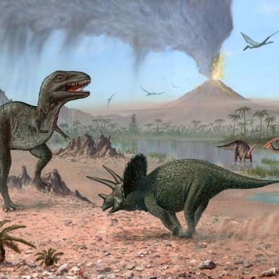 0922 Late Cretaceous Scene